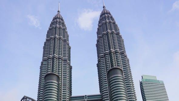 Thumbnail for Petronas Twin Towers at Kuala Lumpur,