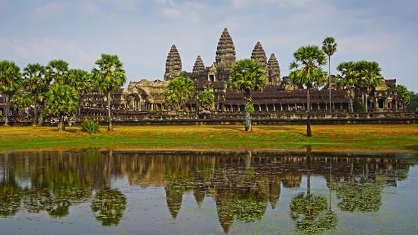 Thumbnail for Angkor Wat Temple in Siem Reap, Zoom
