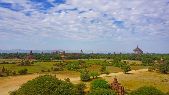 Thumbnail for Temples in Bagan Myanmar Burma