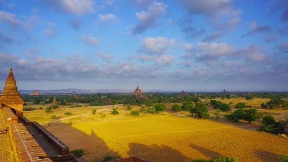 Cover Image for Landscape with Temples in Bagan,