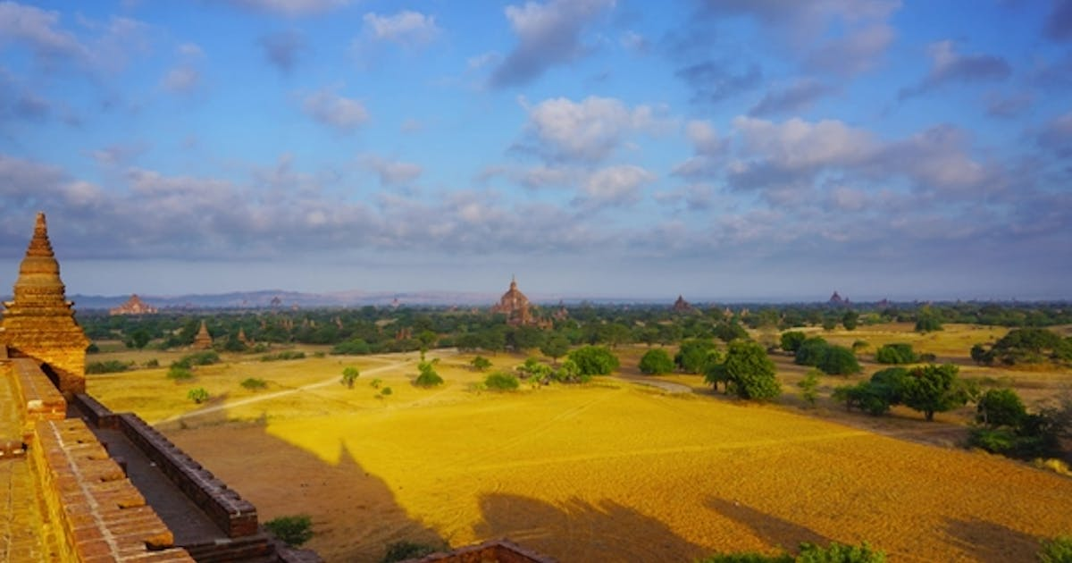Landscape with Temples in Bagan