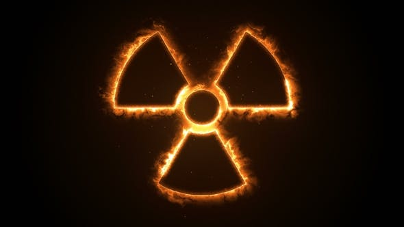 Fire or Flow Energy From Nuclear and Biohazard Symbols