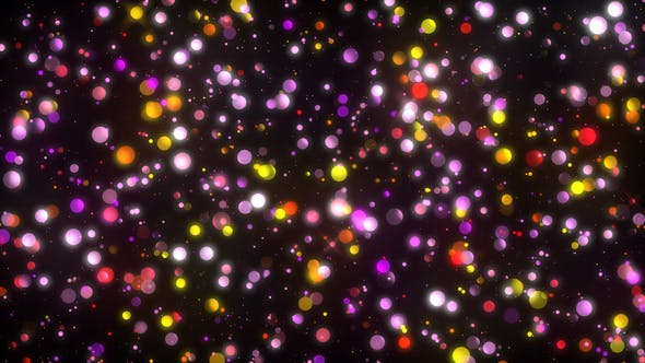 Thumbnail for Particle Glittering Background
