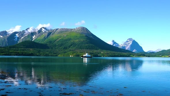 Thumbnail for Ferries' Cross. Beautiful Nature Norway.
