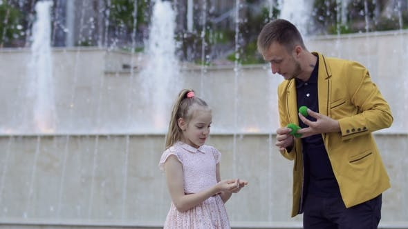 Thumbnail for Magician Show Focus To a Little Girl