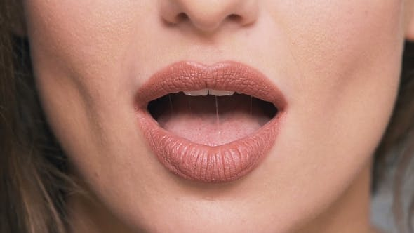 Thumbnail for Portrait of Woman's Lips