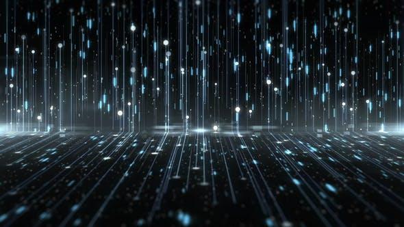 Thumbnail for Data Light Digital Technology Background
