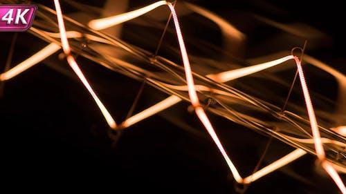 Incandescent Filament Energized