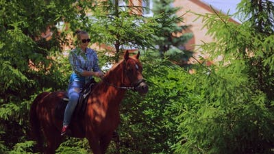 Horse Riding on the Ranch
