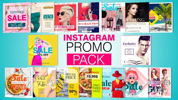 Thumbnail for Instagram PROMO PACK