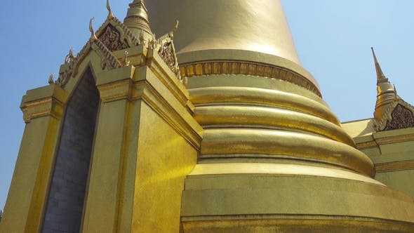 Thumbnail for Golden Pagoda in Grand Palace, Bangkok, Thailand
