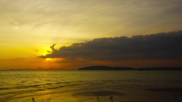 Thumbnail for Tropical Sea Sunset on the Beach