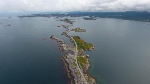 Atlantic Ocean Road in Norway