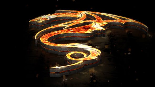 Thumbnail for Flames 3D Logo