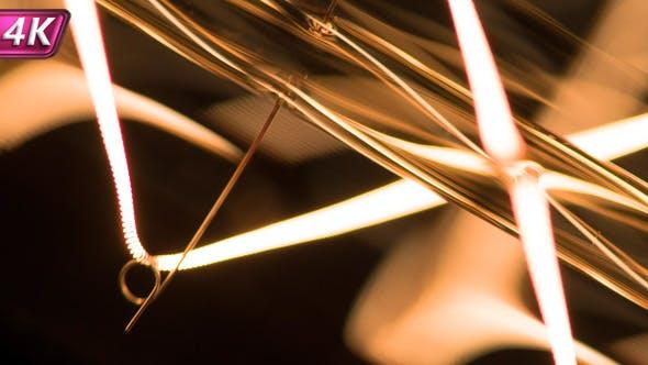 Thumbnail for Flashing Filament Light Bulbs