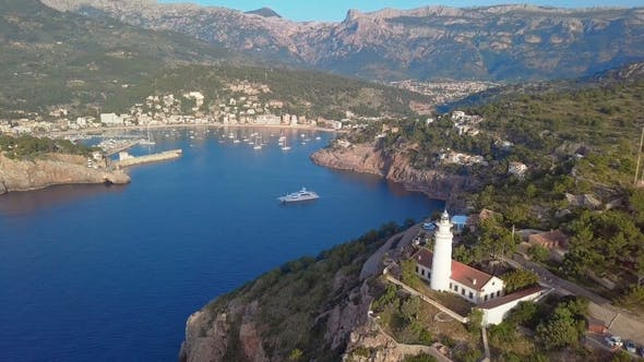 Thumbnail for Port De Soller Aerial View, Majorca