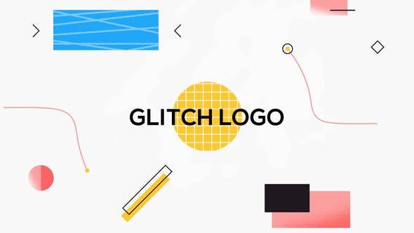 Thumbnail for Shape Glitch Logo Reveal