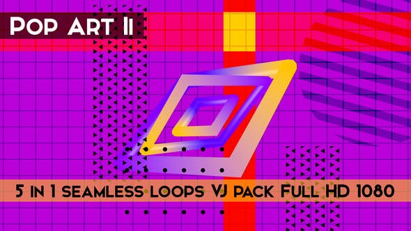 Thumbnail for Pop Art II VJ Loops