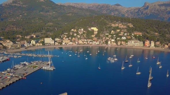 Thumbnail for Port De Soller Aerial View, Majorca