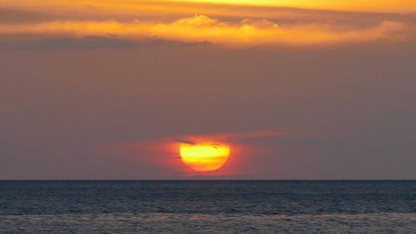Thumbnail for Beautiful Landscape with Sea Sunset,