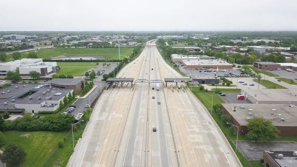 Thumbnail for A Great Way To Drive Cars and Pay a Toll on a Toll Road in the U.S. Height View in Chicago