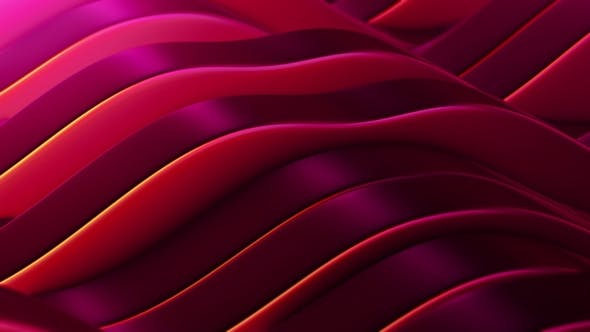Thumbnail for Red Abstract Fields Vj Loop