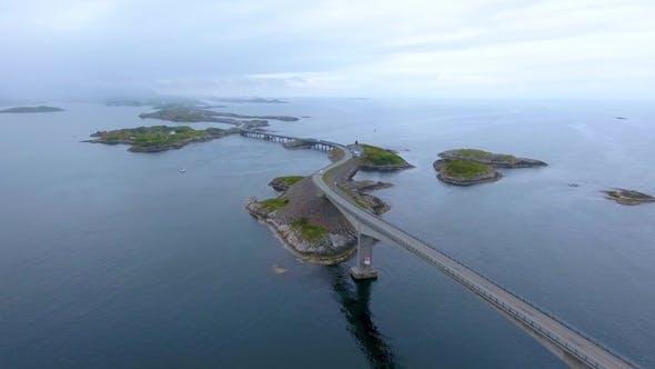 Cover Image for Atlantic Ocean Road  Norway