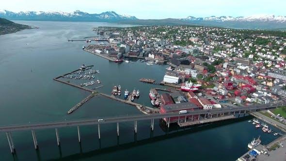 Cover Image for Bridge of City Tromso, Norway