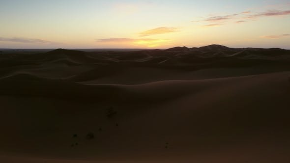 Thumbnail for Sahara Desert at Sunrise