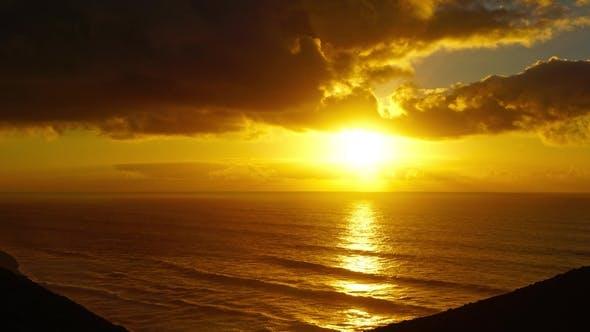 Thumbnail for Sunset in Atlantic Ocean Morocco Coast
