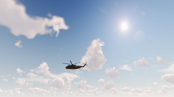 Thumbnail for United Nations Helicopter - Sikorsky Flying