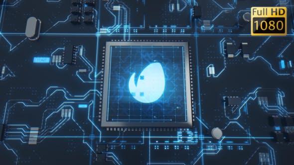 Thumbnail for Hi-Tech Chip Logo Reveal
