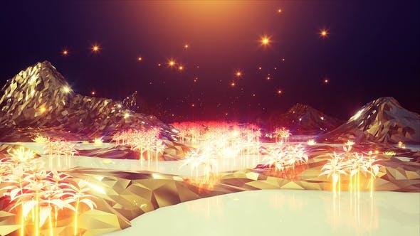 Thumbnail for Light Gold Landscape