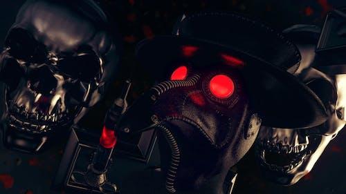 Plague Doctor VJ Loop