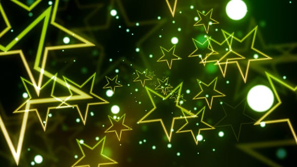 Cover Image for Green Celebration Star