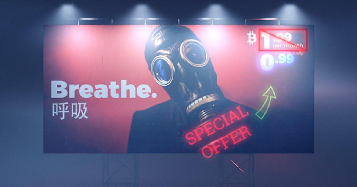 Cyberpunk Billboard
