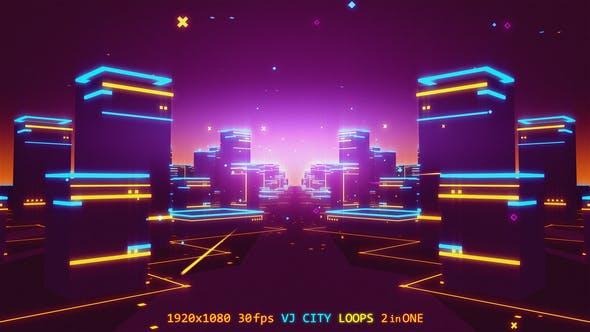 Thumbnail for VJ City Loops