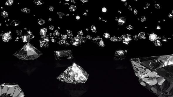 Thumbnail for Diamonds Backgrounds Pack