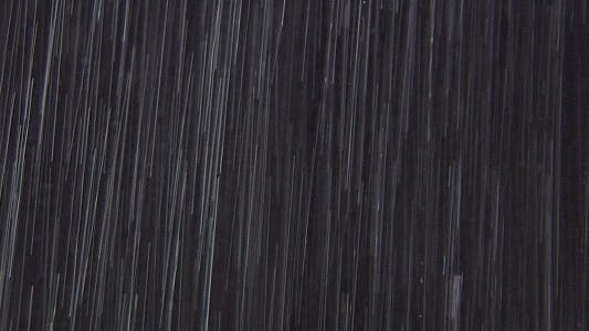 Rain On Black