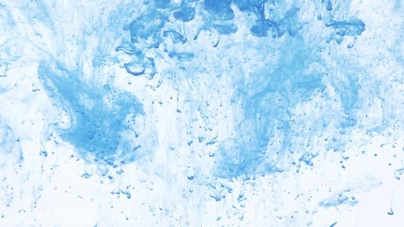 Thumbnail for Colored Ink Cloud Grows in Water