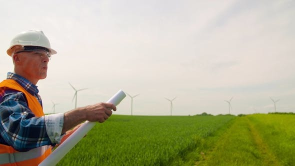 Thumbnail for Wind Turbine Inspection at Windmill Farm