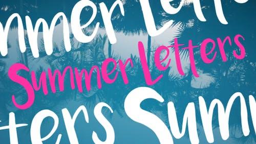 Sommerbuchstaben