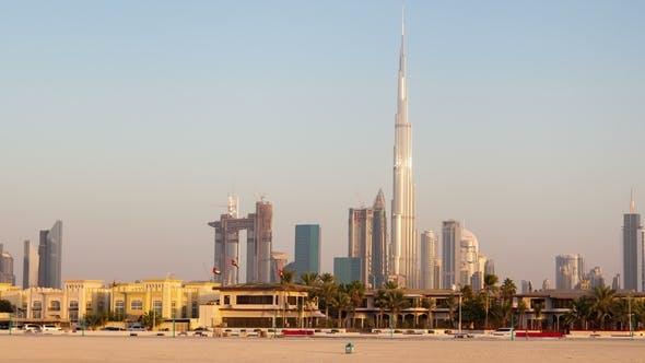 Thumbnail for Downtown Dubai From Daria Island