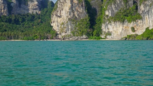 Thumbnail for View on the Coastline From Boat, Thailand