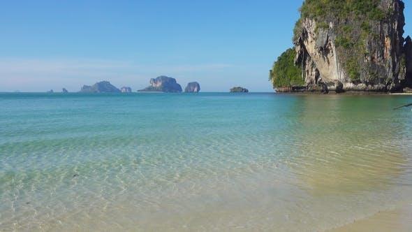 Thumbnail for Tropical Beach and Rocks, Krabi, Thailand