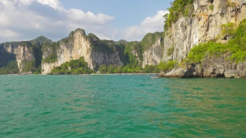 View on the Coastline From Boat, Thailand