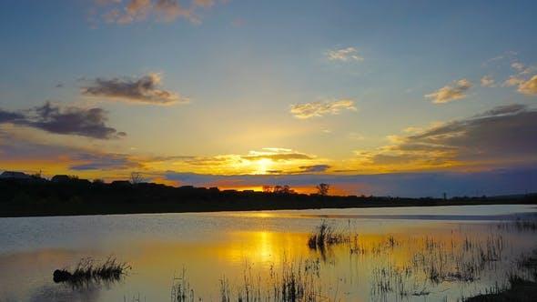 Thumbnail for Sonnenuntergang über dem See