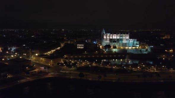 Cover Image for Aerial View. Catedral De Santa Maria Palma De Mallorca