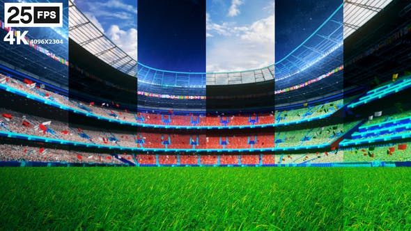 Thumbnail for Flying On Grass In Stadium HD Pack 03