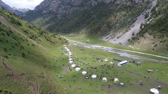 Thumbnail for Attractions in Kyrgyzstan Aerial view